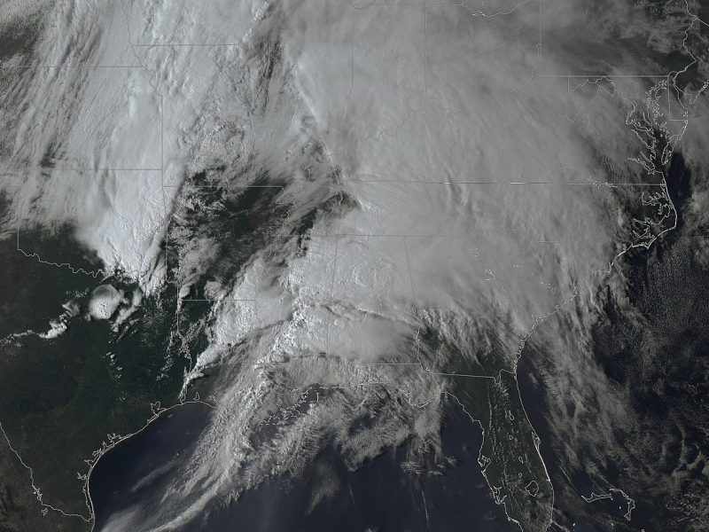 Easter Sunday Tornado Outbreak in the Southern U.S. leaves trail of destruction
