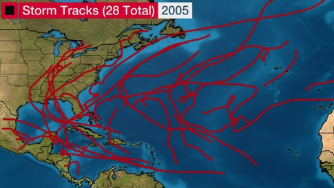 The Atlantic hurricane season that changed the United States forever