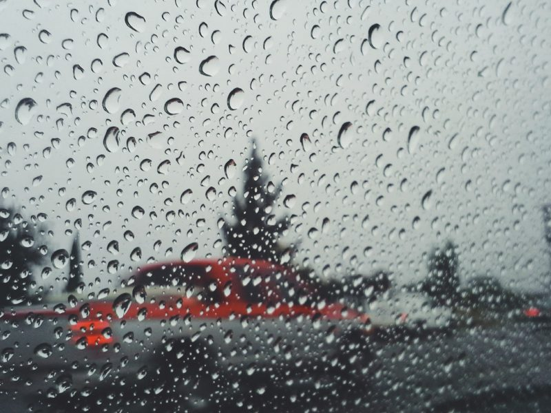 Rain Ending This Afternoon