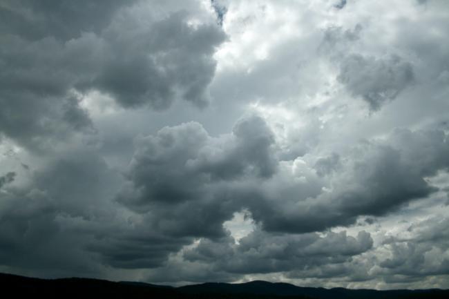Cloudy skies return tonight