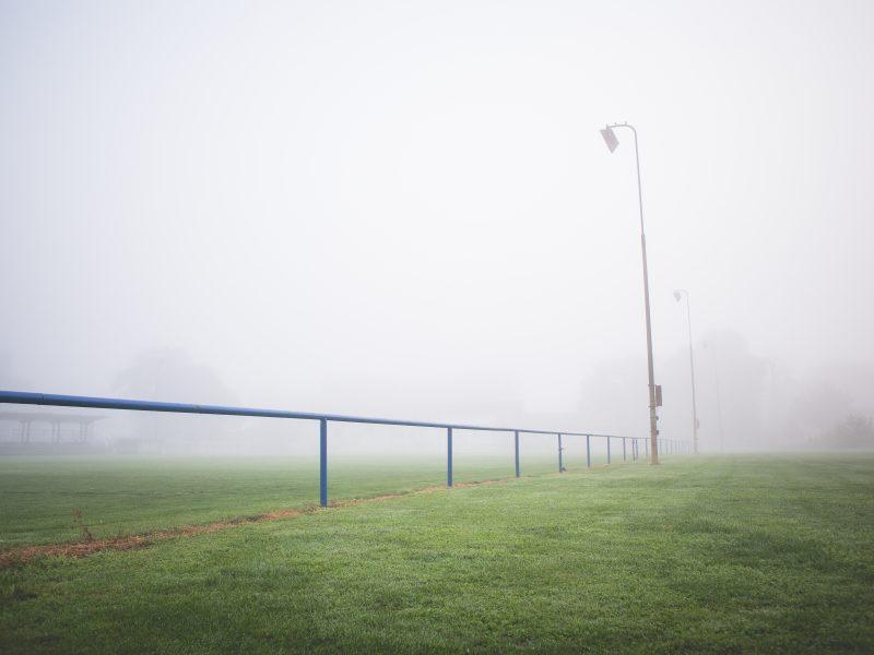 Foggy Start for Monday